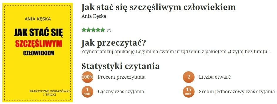 3 dni z Legimi.com