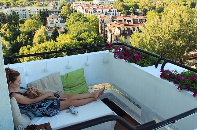 (mój) Mały balkon w bloku
