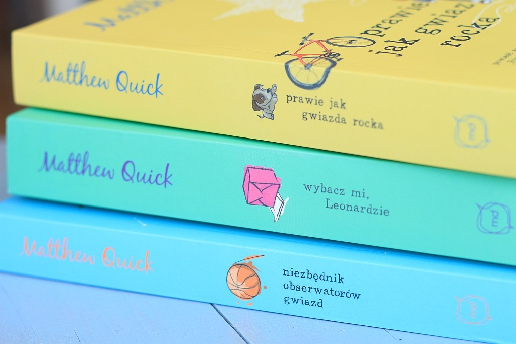 3 książki Matthew Quicka + konkurs