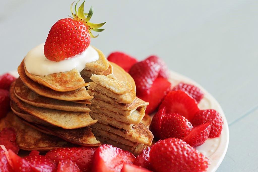 Najprostsze pancakes – zdrowe, ekspresowe, dwuskładnikowe