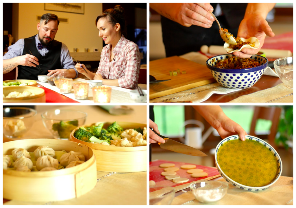 Kolacja ze ZdrowoManią – pierożki chińskie z orientalnymi sosami