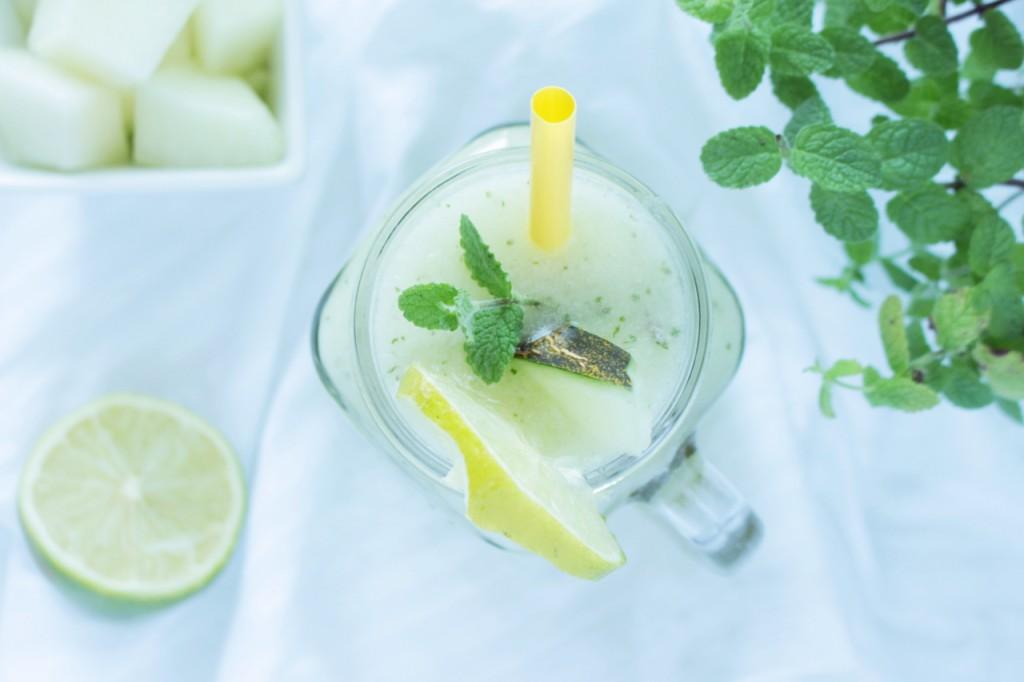 Meloniada, czyli lemoniada melonowa