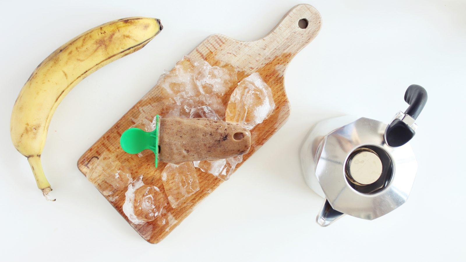 wegańskie lody kawowe
