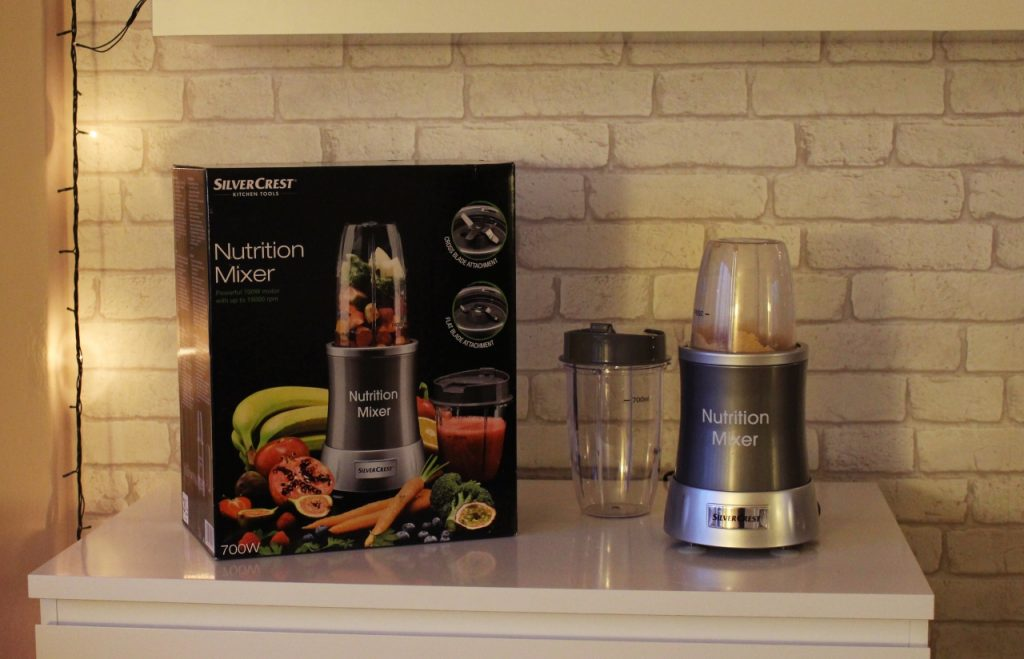 Blender z LIDLA – Nutrition Mixer 700W Silver Crest