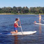 Mój pierwszy raz na SUP (Stand Up Paddle Board)