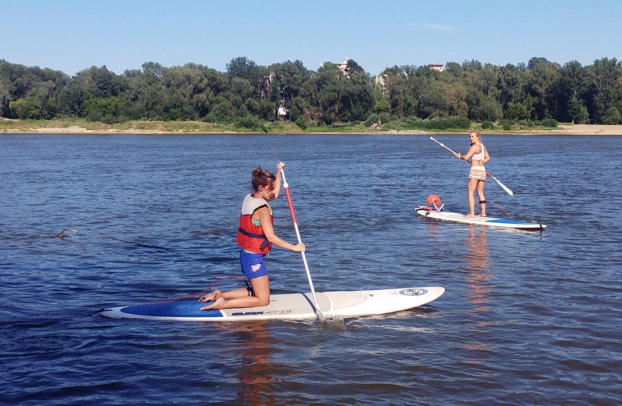 stand up paddle Warszawa