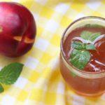 Brzoskwiniowa ICE TEA – mrożona herbata o smaku brzoskwiniowym