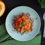 Warzywna potrawka z dyni