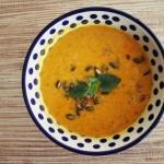 Zupa z dyni hokkaido z imbirem