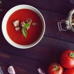 Ekspresowa zupa krem z pomidorów