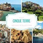 Cinque Terre – informacje praktyczne