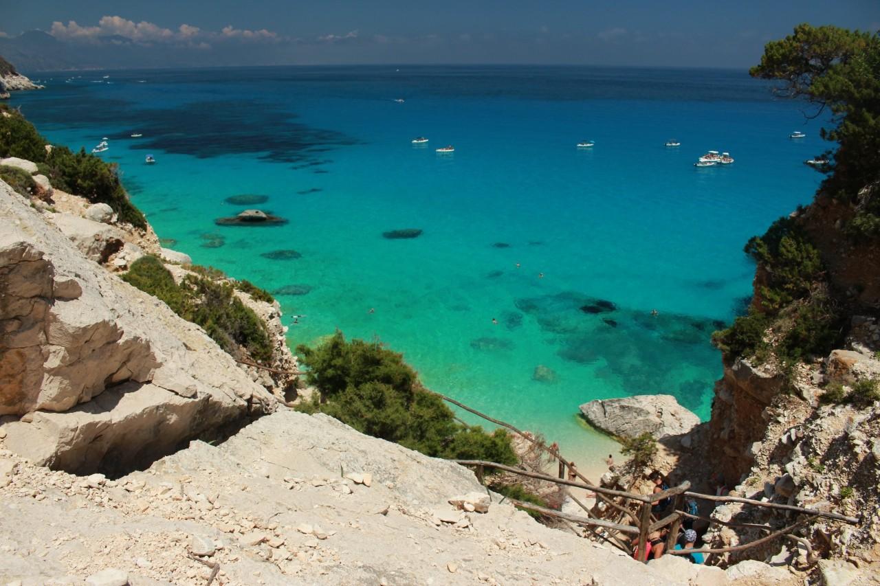 wschodnie wybrzeże Sardynii - Cala Goloritze