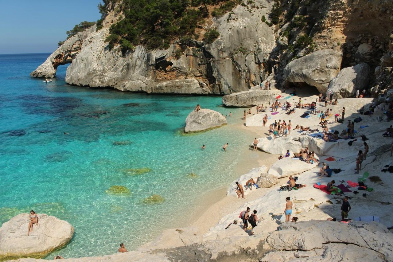 wschodnie wybrzeże Sardynii  Cala Goloritze Sardegna