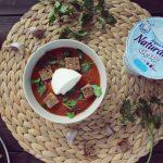 Zupa czosnkowo-pomidorowa na dwa sposoby