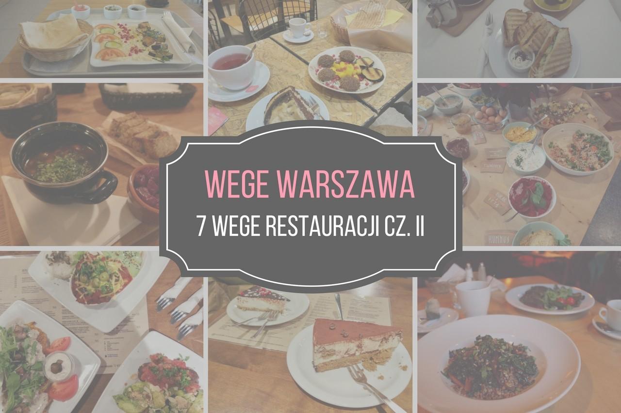 wegetariańskie miejsca w Warszawie