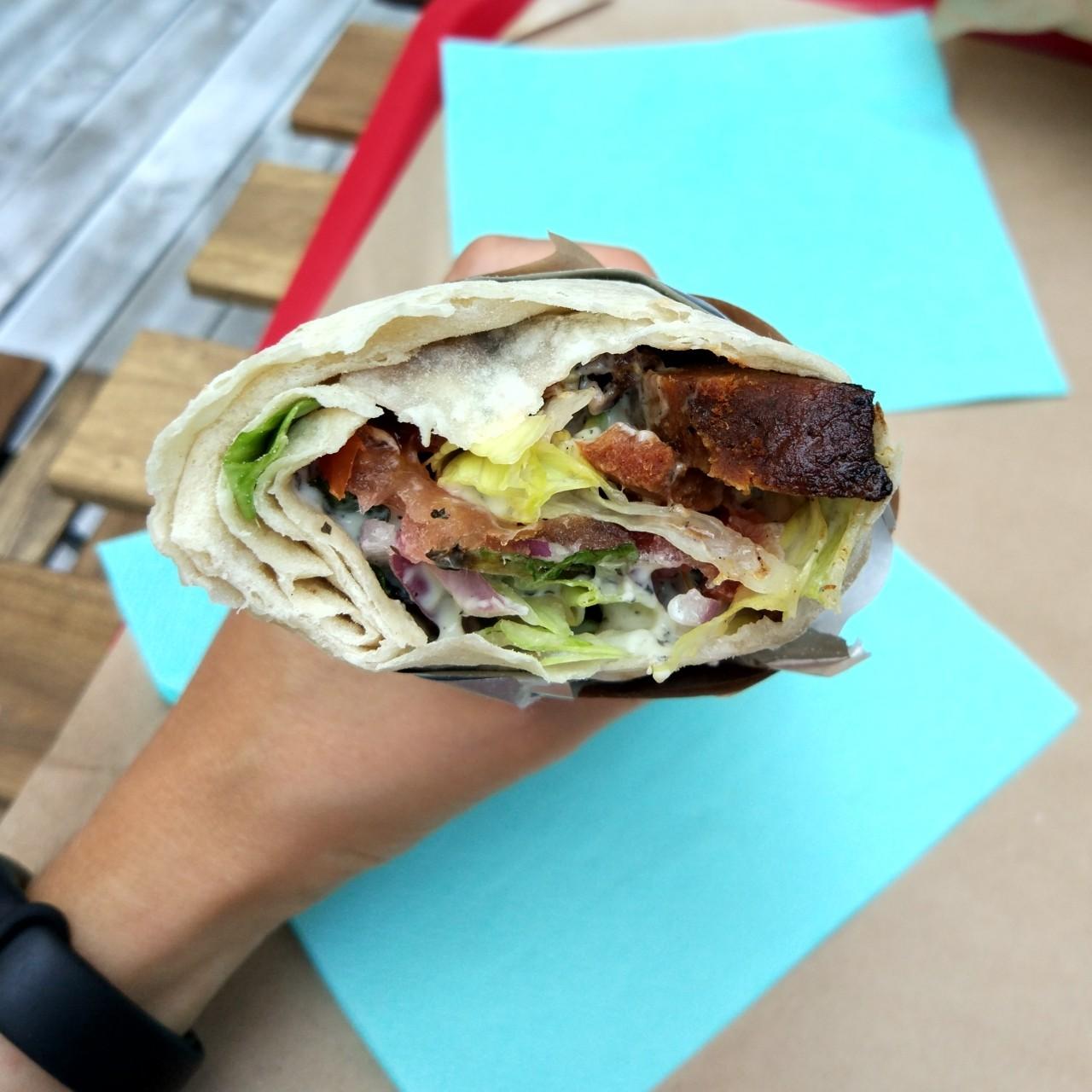 weganski kebab