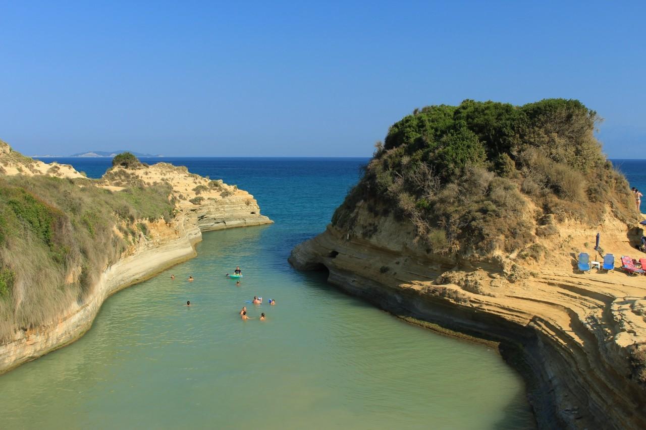 co zobaczyć na Korfu - Canal d'Amour