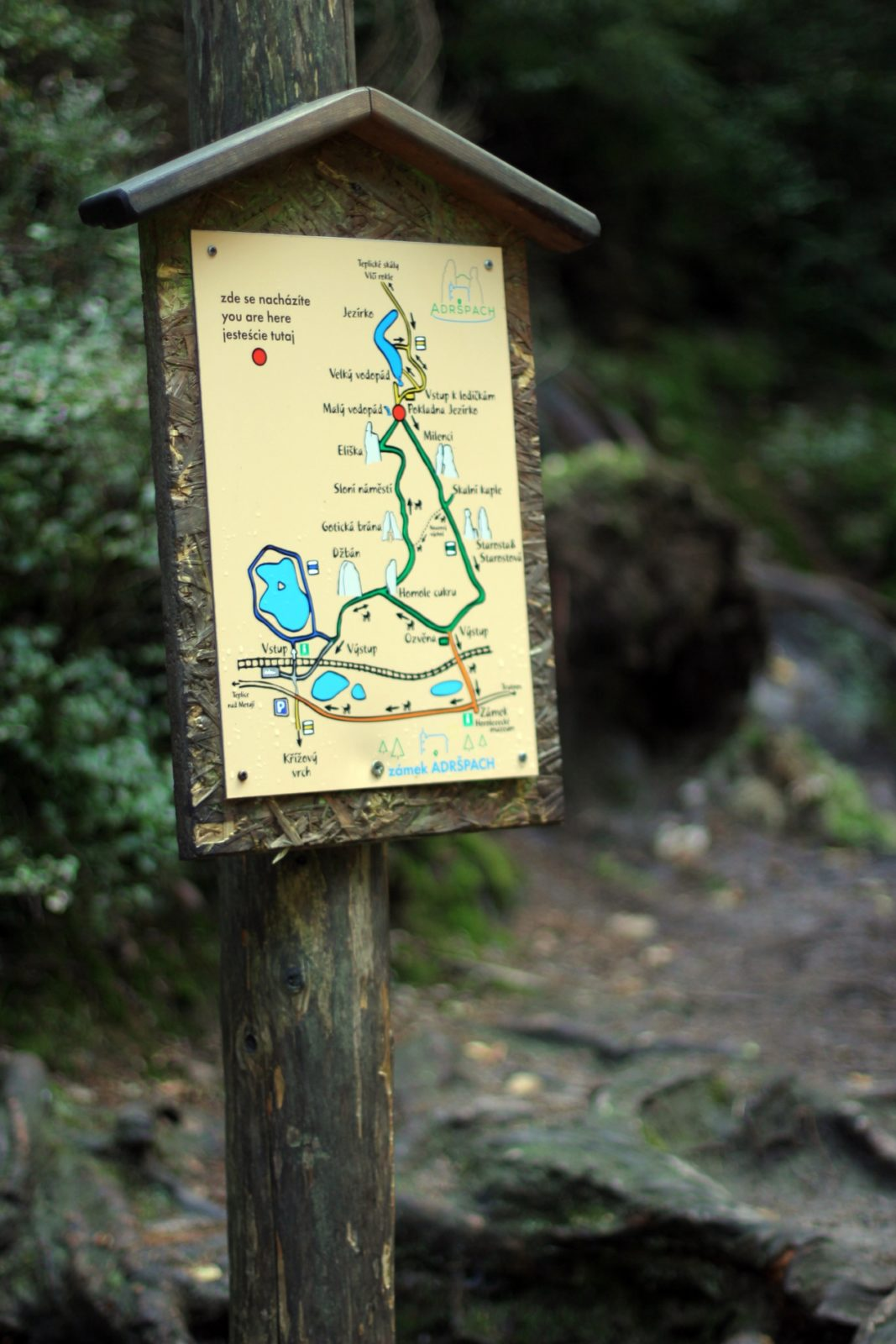 Adršpach trasy turystyczne