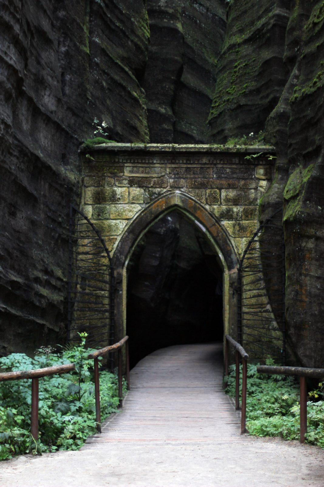 Brama gotycka Adršpach