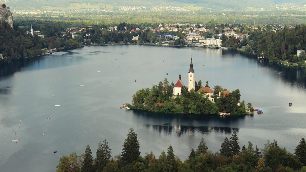 Co zobaczyc w Slowenii - Jezioro Bled